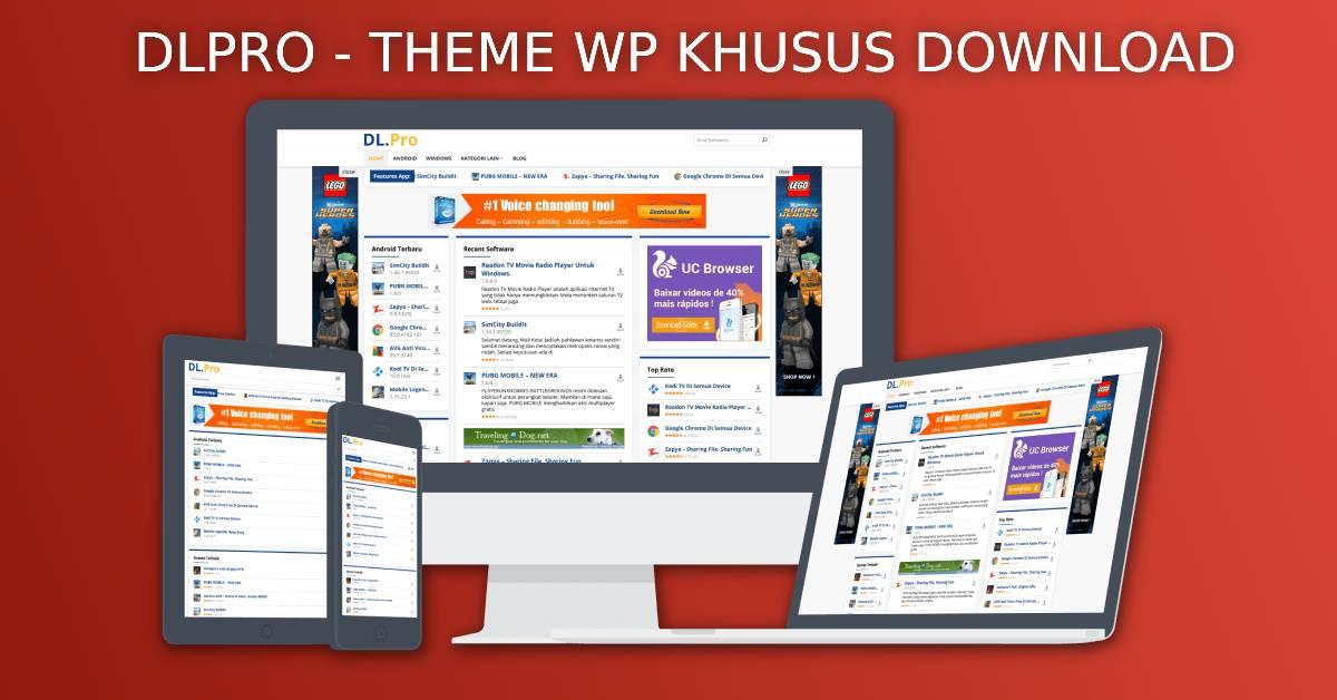 Update Dlpro WordPress Theme Versi 1.0.2